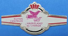 1 BAGUE DE CIGARE HAERLAND BIJ 'T HARDE BUITEN CENTRUM  / ABONNE STEMT TEVREE ( LONGUEUR 68 MM ) - Vitolas (Anillas De Puros)