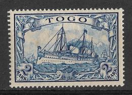 Togo, German Colony 1900, 2 Mark. Mi 17 /Sc 17. MLH - Colonia: Togo