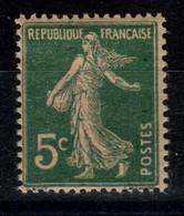 YV 137h N** Papier GC Semeuse Cote 5 Euros - Unused Stamps