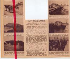 Orig. Knipsel Coupure Tijdschrift Magazine - 5 Jaar Na 1° Wereldoorlog - Wijtschate, Nieuwpoort - 1924 - Non Classificati