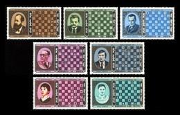 Mongolia 1986 Mih. 1750/56 World Chess Champions MNH ** - Mongolia