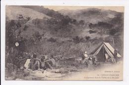 CP CONGO Campement Dans La Vallée De La Moundji - Frans-Kongo - Varia