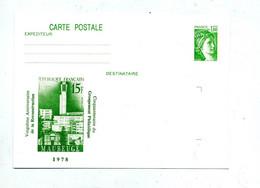 Carte Postale 1.00 Sabine Illustré Maubeuge - Overprinter Postcards (before 1995)