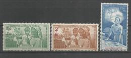 Timbre Colonie Française Guadeloupe  P-a  Neuf *  1 / 2 / 3 - Poste Aérienne