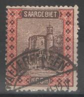 Sarre - YT 60 Oblitéré - 1921 - Used Stamps