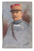 Marshal Foch, Commanding The Allied Forces - First World War Tuck Postcard, No. P2382 - Guerra 1914-18