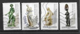 France 2019  Oblitéré Autoadhésif  N° 1696 - 1698 - 1704 - 1706   -  Nu Dans L'art - Déesses & Sculptures - Adhesive Stamps
