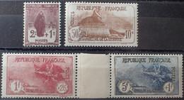 R1491/52 - 1926/1927 - AU PROFIT DES ORPHELINS DE LA GUERRE - SERIE COMPLETE - N°229 à 232 NEUFS** - Unused Stamps