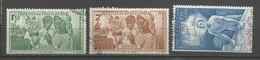 Timbre Colonie Française Guadeloupe  P-a  Oblitéré N 1/2/3 - Used Stamps