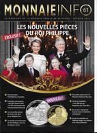 Le Magazine De La Monnaie Royale De Belgique  Nos 61 Fevrier 2014livre De - French
