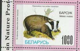 Biélorussie. Belarus.WWF.  Blaireau. Badger - Otros