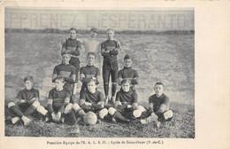 62-SAINT-LOMER- PREMIERE EQUIPE DE L'S A.L.S.O , LYCEE DE SAINT-OMER - Saint Omer