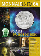 Le Magazine De La Monnaie Royale De Belgique  Nos 64 Novembre  2014 - French