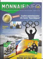Le Magazine De La Monnaie Royale De Belgique  Nos 68  Mars 2016 - French
