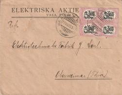 Finlande Lettre Pour L'Allemagne 1923 - Cartas