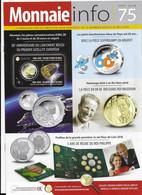 Le Magazine De La Monnaie Royale De Belgique  Nos 75  Septembre 2018 - French