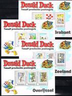 D(A) 285 ++ NEDERLAND NETHERLANDS PERSOONLIJKE ZEGELS DONALD DUCK COMPLETE 12 SHEETS MNH ** - Unused Stamps