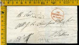 Piego Con Testo Como Per Bellano Lecco - 1. ...-1850 Prephilately
