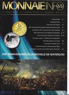 Le Magazine De La Monnaie Royale De Belgique  Nos 65 Mai 2015 - French