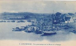 Finistère - Concarneau - Vue Panoramique Sur Le Moros Et Le Passage - Concarneau