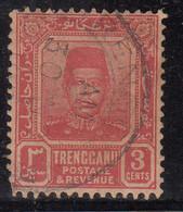Trengganu 3c Used 1910, Malaya / Malaysia - Trengganu