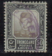 Trengganu 50c Used 1910, Malaya / Malaysia - Trengganu