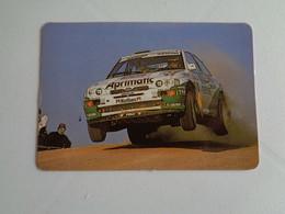 Rally Rali Renault Auto A. J. Martins Sacavém Portugal Portuguese Plastic Pocket Calendar 1996 - Small : 1991-00