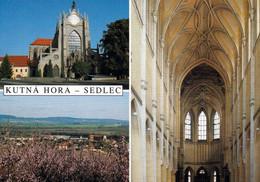1 AK Tschechien * Die Kirche Mariä Himmelfahrt In Kutná Hora Im Stadtteil Sedlec - Erbaut Von 1280 Bis 1320 * - Czech Republic