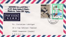 JAPON : Divers Sur Lettre Pour La France . - Cartas