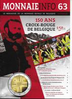 Le Magazine De La Monnaie Royale De Belgique  Nos 63 Septembre 2014 - French