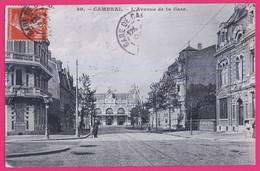 PTS 59-557 - NORD - CAMBRAI -  L'Avenue De La Gare - Cambrai