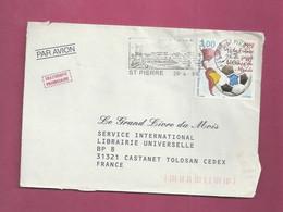 Lettre De 1999 Pour La France. YT N° 683 - Saint-Pierre Et Miquelon - 1998 – Francia