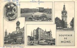 Belgique - Mons - Souvenir De Mons - Multi-Vues - Mons