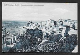 CASTELLAMMARE DEL GOLFO PANORAMA DALLA VILLETTA COMUNALE VG. 1940 TRAPANI F. PICCOLO N°B111 - Trapani