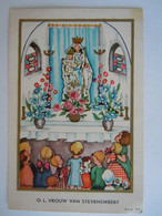 Image Pieuse Santini Devotieprentje Marie Maria O. L. Vrouw Van Stevensweert E.v.A. 148 - Devotion Images