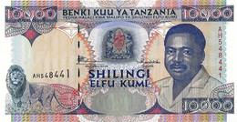 TANZANIE  1995  10000 Shilingi  -  P.29  Neuf UNC - Tanzania