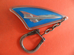 PC Key Ring Chain - Inclusion Avion Aviation CONCORDE - Portachiavi