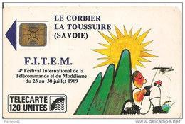 BELLE TELECARTE FITEM 1989 EN BON ETAT. PETIT PRIX. - 1989