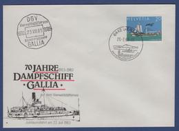 Schiffsstempel Vierwaldstättersee (aa5999) - Postmark Collection