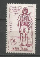 Timbre Colonie Française Mauritanie Neuf * N 117 - Neufs