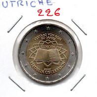 AUTRICHE 2 € COMMEMORATIVE   TRAITE DE ROME   2007 ( UNC ) Lot N° 226 - Austria