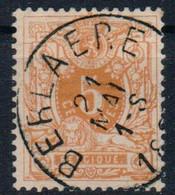 BELGIUM     28  USED   BERLAERE - 1869-1883 Leopold II.