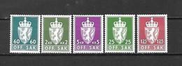 NORVEGIA - 1975 - N. 94/98** (CATALOGO UNIFICATO) - Officials