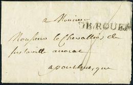 Lettre MARQUE POSTALE DE ROUEN (Lenain N° 5), Datée De 1766 Pour Pont L'Evêque, T.B. - Non Classificati