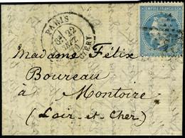Lettre LE NEPTUNE, Courrier Du Neptune Retardé, Càd Paris R De Cléry 22 Sept 70 Pour Montoire (L Et Ch), T.B. - Non Classificati