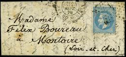 Lettre LES ETATS-UNIS, Càd Paris R D'Enghien 25 Sept 70 Pour Montoire (L Et Ch), T.B. - Non Classificati