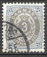 AFA # 22B  Denmark    Used    1895 - Used Stamps