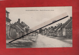 CPA - Wacquemoulin -(Oise) - Rue Du Colonel De La Perche - Other Municipalities