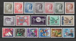LUXEMBOURG - ANNEE COMPLETE 1965 ** MNH - - Años Completos