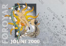 CARTOLINA  POSTVERK FOROYA,FOROYAR JOLINI NON VIAGGIATA - Faroe Islands
